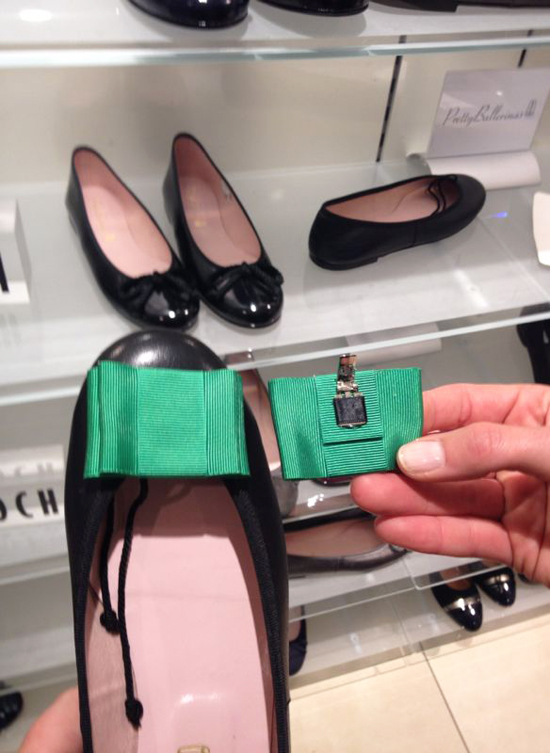 Schuhschmuck für Ballerinas
