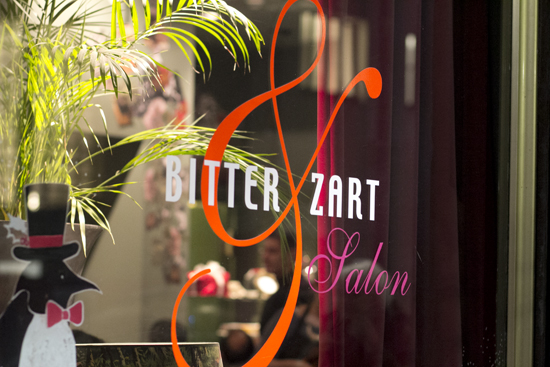 Das Café Bitter & Zart in Frankfurt am Main