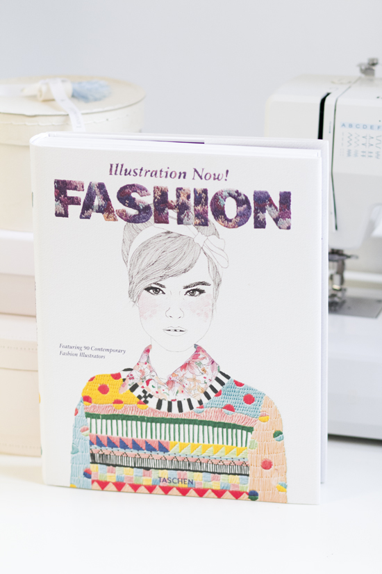 FASHION - Illustration Now! ist im Taschen Verlag erschienen