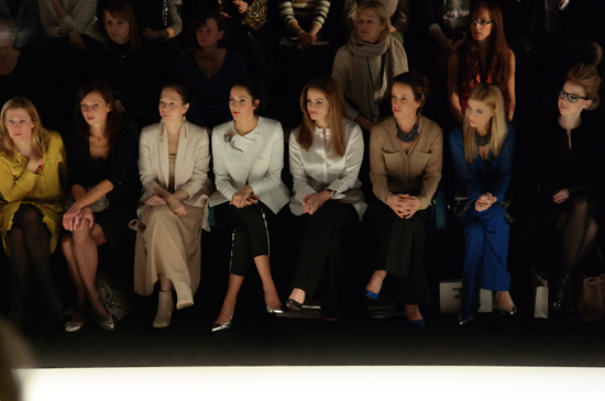 Christiane Arp (Vogue), Patricia Riekel (Bunte/Amica/Instyle) und Annette Weber (Instyle)