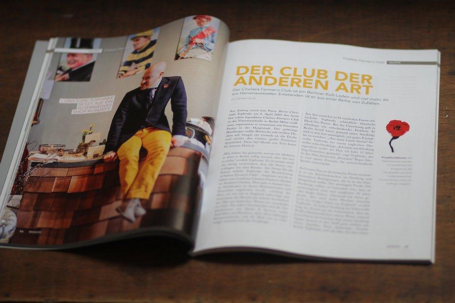 TWEED Magazin: Chelsea Farmers Club
