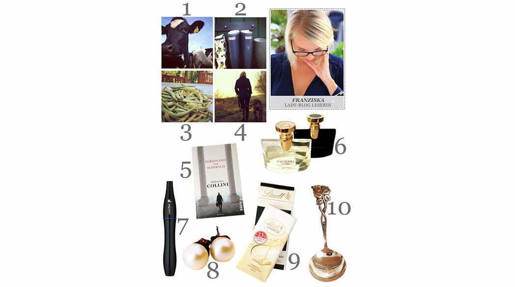 Franzis Love-List: 10 Dinge, die glücklich machen
