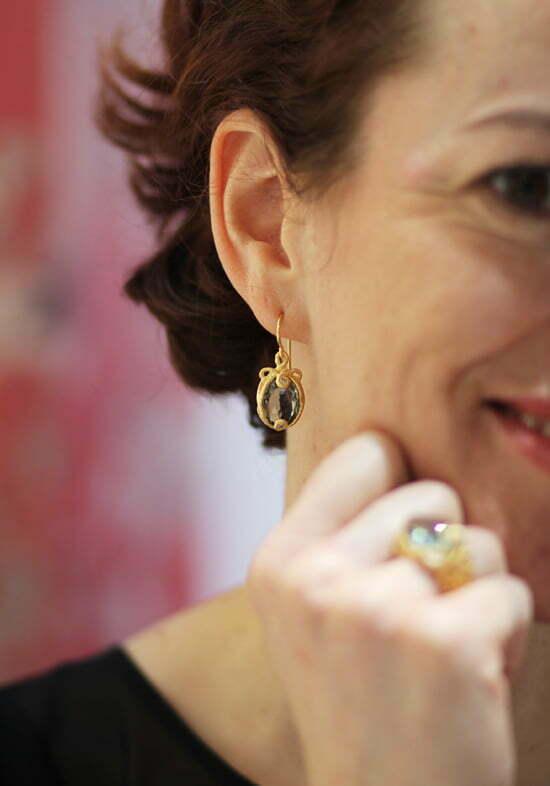 Schmuckdesignerin Brigitte Adolph
