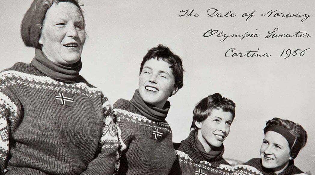 Kultpullover von Dale of Norway: der erste offizielle Olympia-Sweater