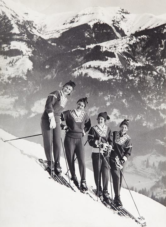 Kultpullover von Dale of Norway: Skiweltmeisterschaft in Bad Gastein 1958