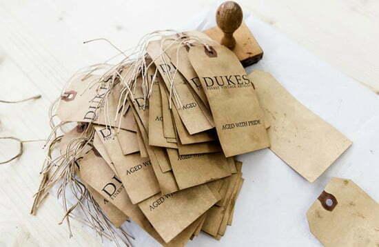 Vintage-Gürtel von DUKES