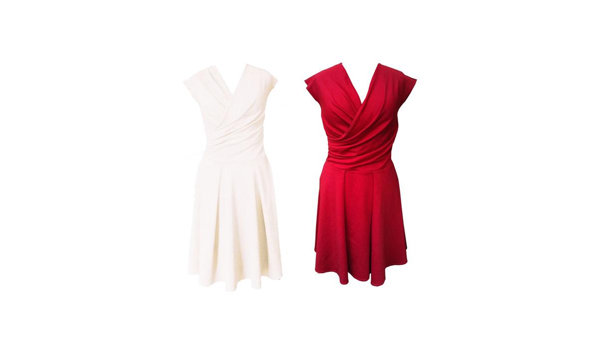 Der Freitagsfund: Jerseykleider von Dawanda