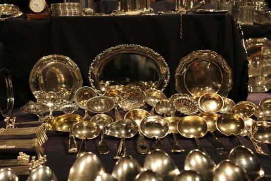 Art Fair in Hamburg: Antikes Silber