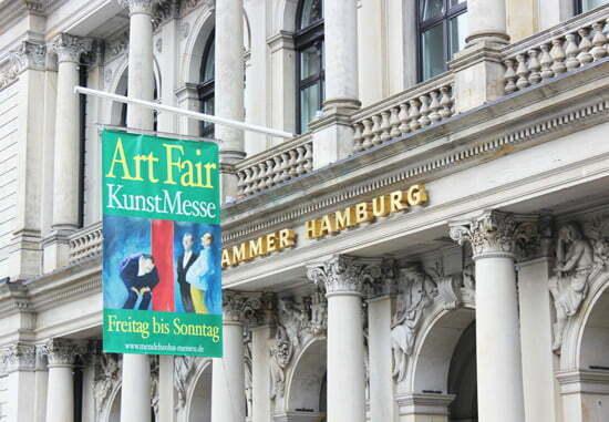 Die Art Fair in der Hamburger Handelskammer
