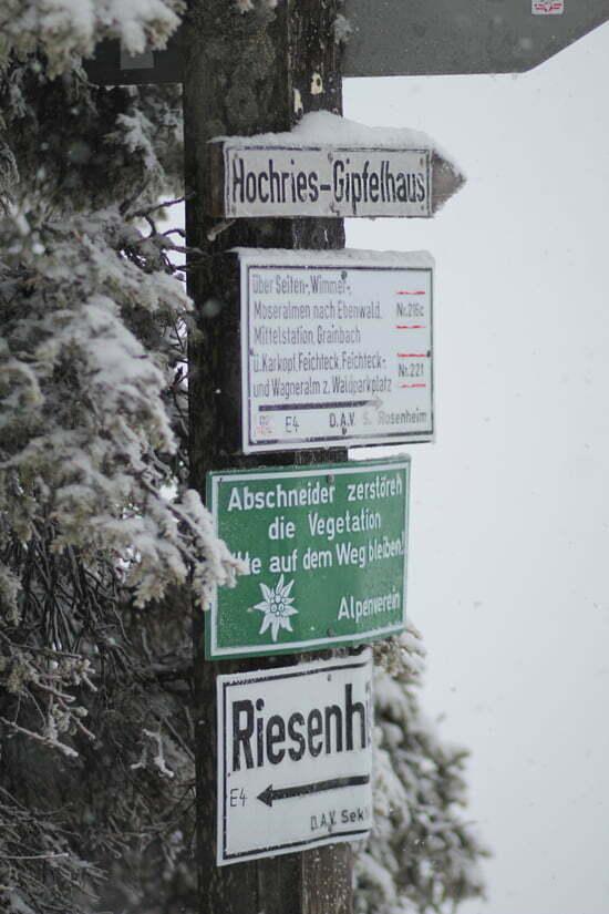 Hüttentour: Hochrieshütte in den Chiemgauer Alpen
