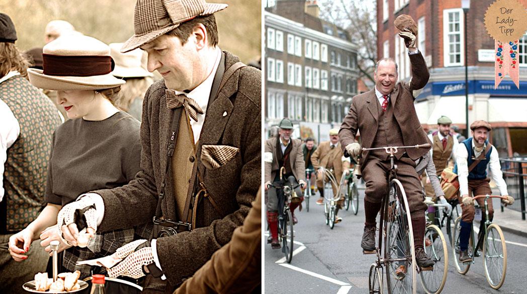 Tweed Run in Oldenburg/London