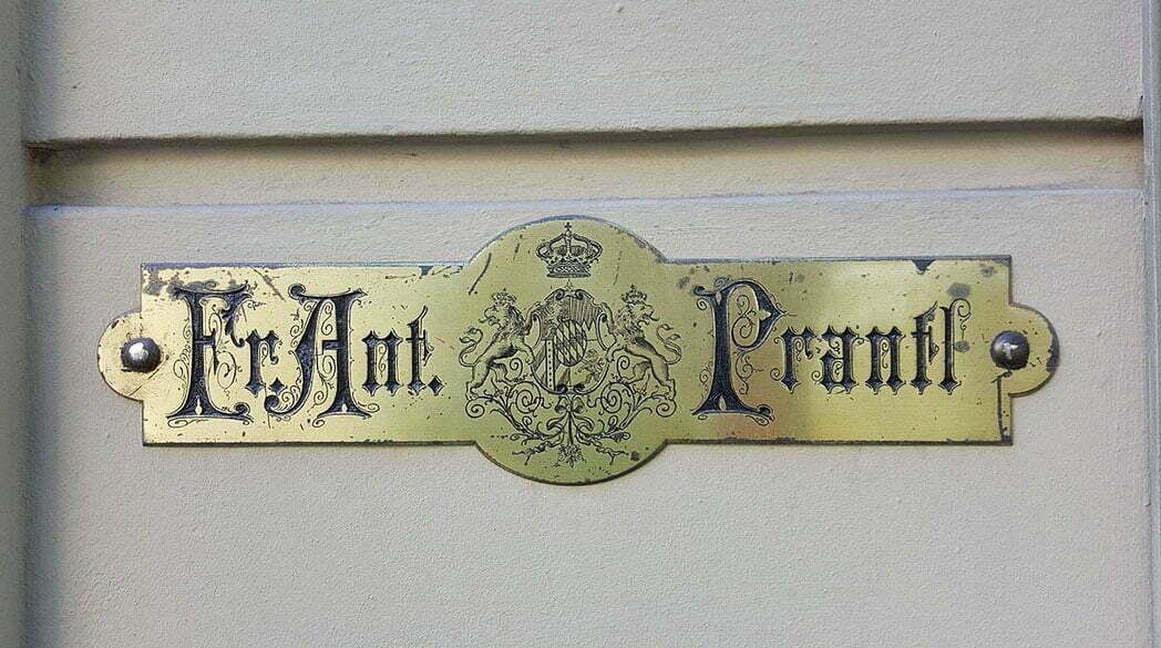Made in Germany: Drucksachen von Fr. Ant. Prantl