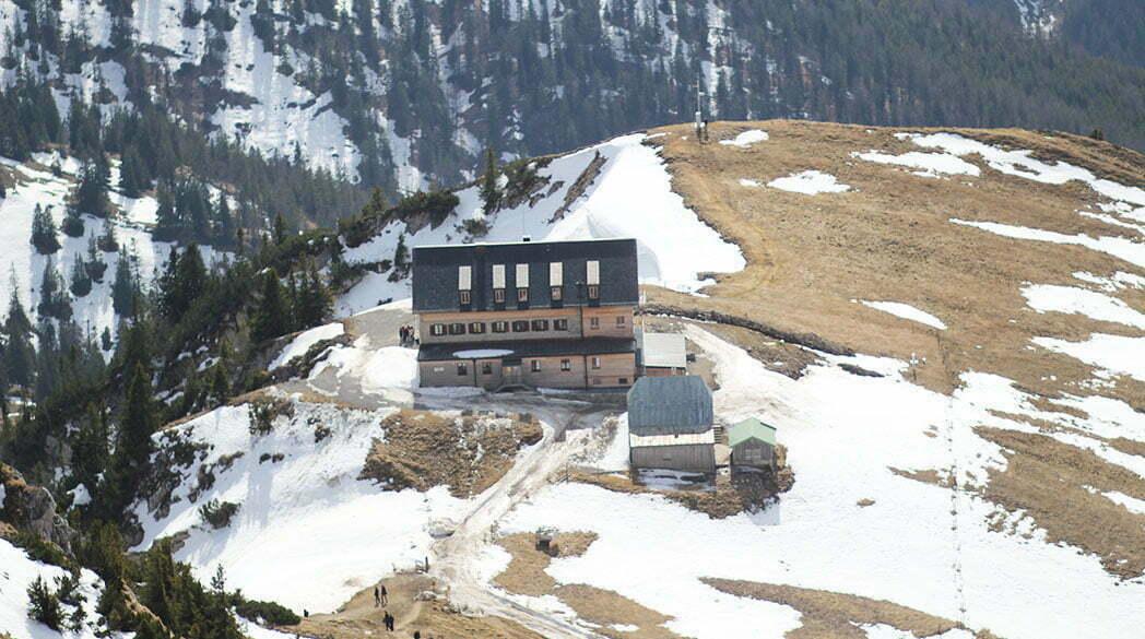 Das Rotwandhaus im Mangfallgebirge