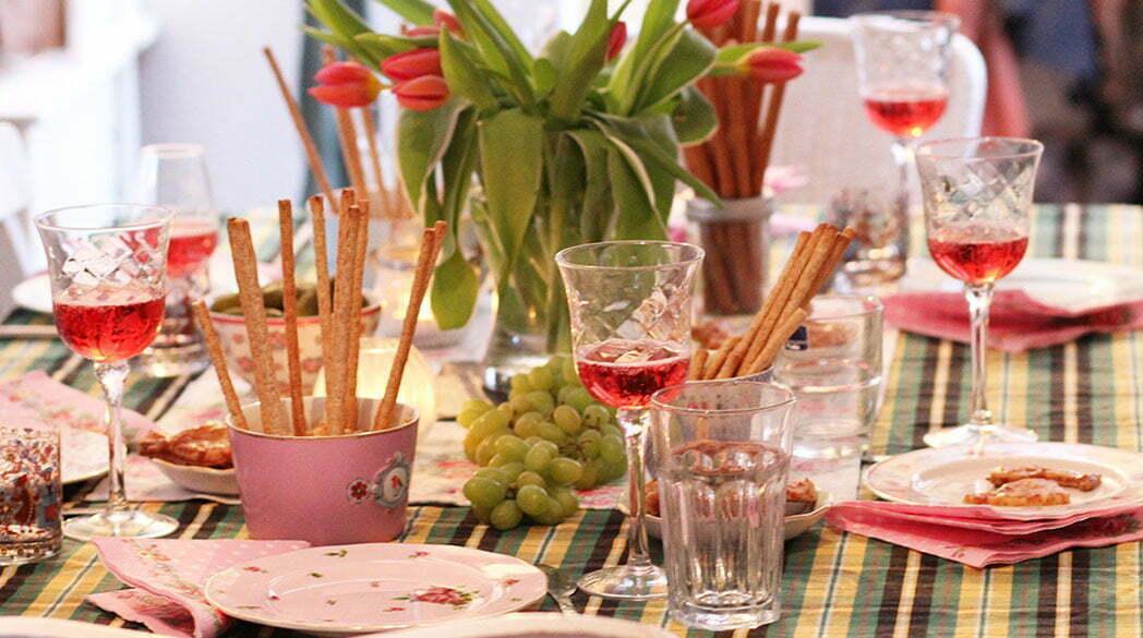 Kleine Weinprobe mit Weinen aus dem Steigerwald