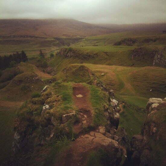 Fairy Glen bei Uig Isle of Skye