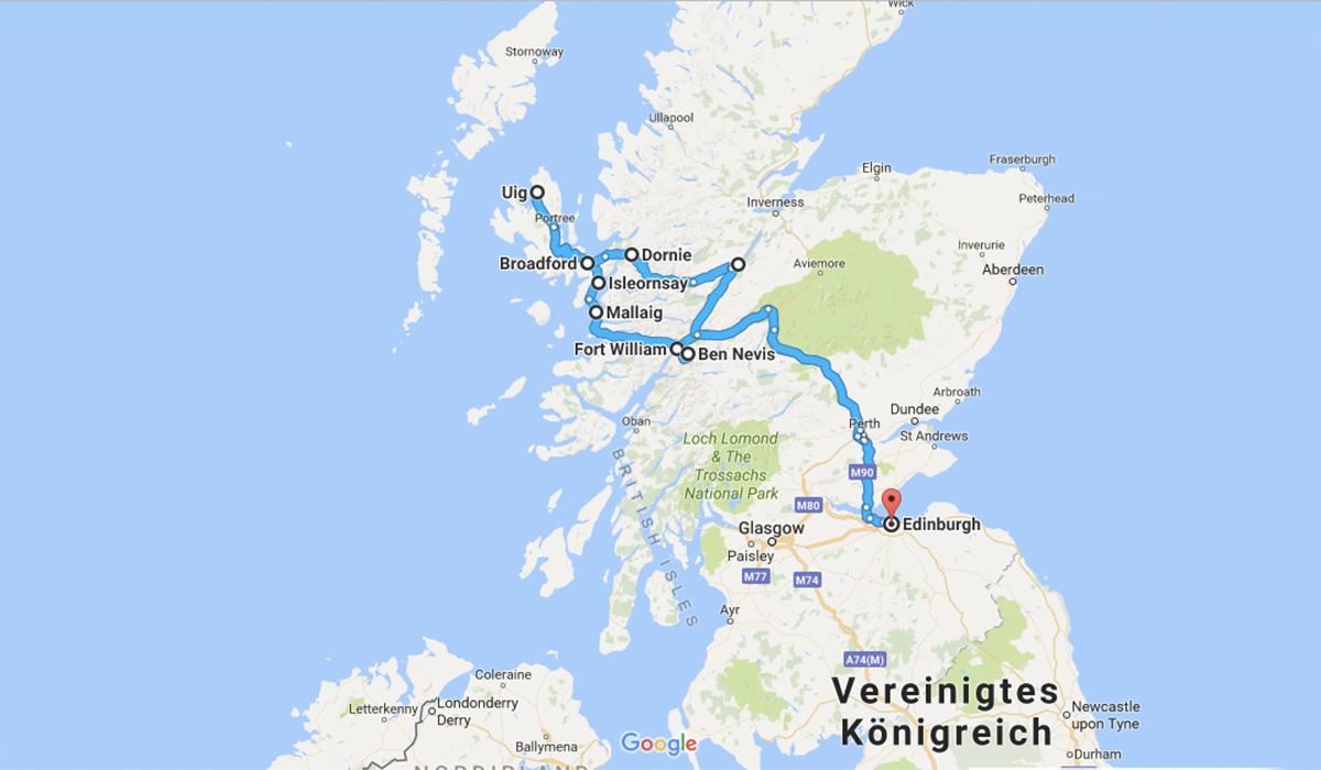 Lady-Blog auf Reisen: Auf geht's nach Schottland!