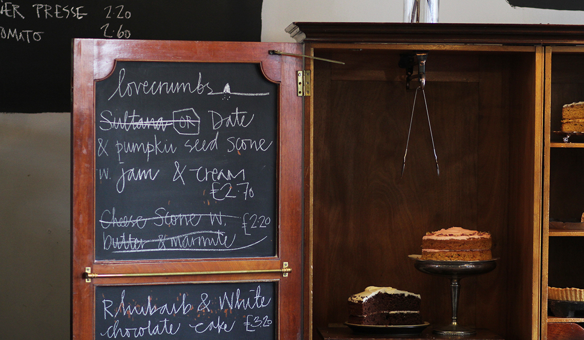 Lovely Places: Das Café Lovecrumbs in Edinburgh