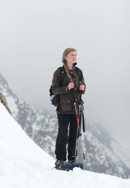Schneeschuhtour zur Winnebachseehütte in den Stubaier Alpen