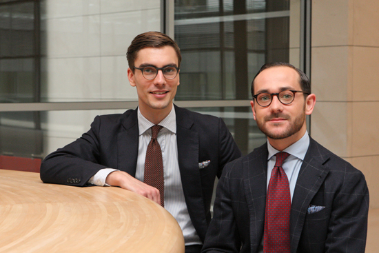 Niels Holdorf und Benedikt Fries von Shibumi