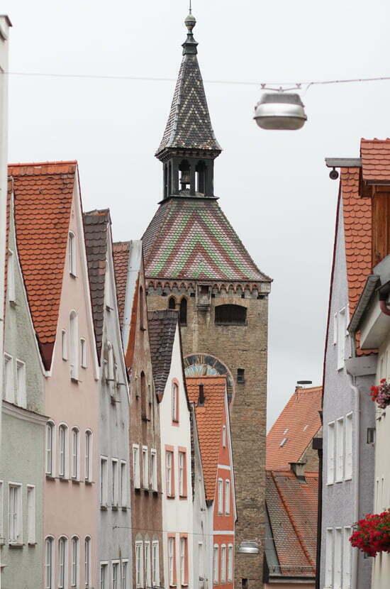 Tipps für die Romantische Straße: Landsberg am Lech