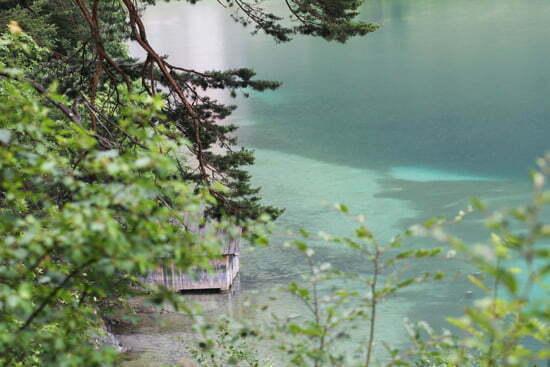 Tipps für die Romantische Straße: Alpsee