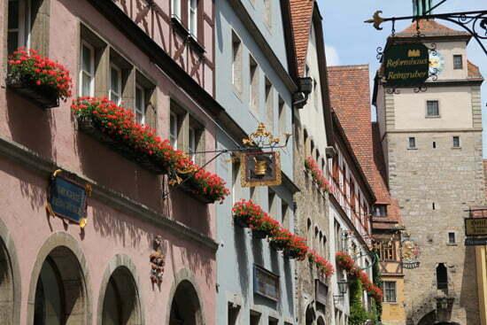 Tipps für die Romantische Straße: Rothenburg