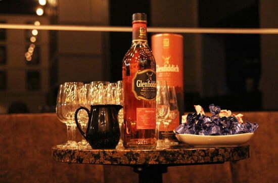 Frauen und Whiskey: Glenfiddich mit Schokolade