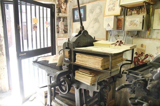 Venedig-Tipp: Druckerei von Gianni Basso