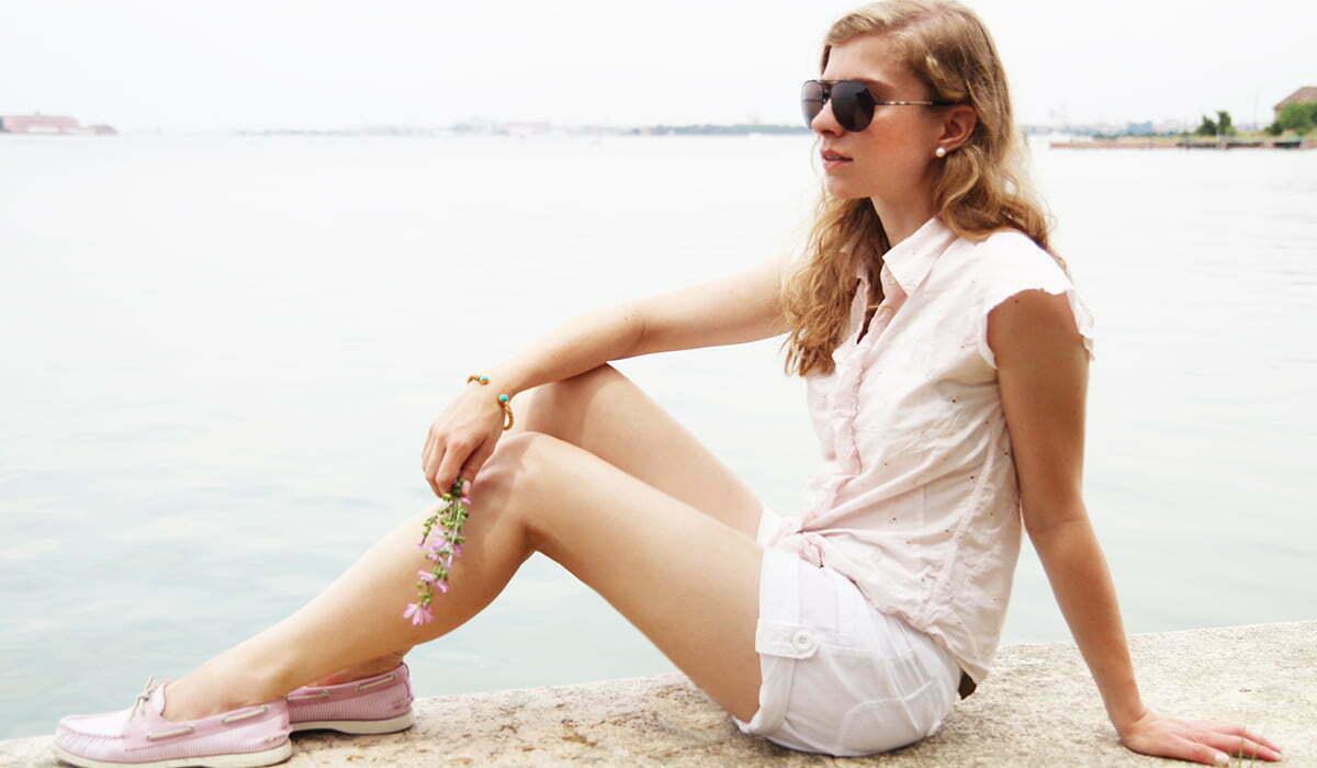 Outfitpost: Radltour auf Lido mit Sperry Top-Sider