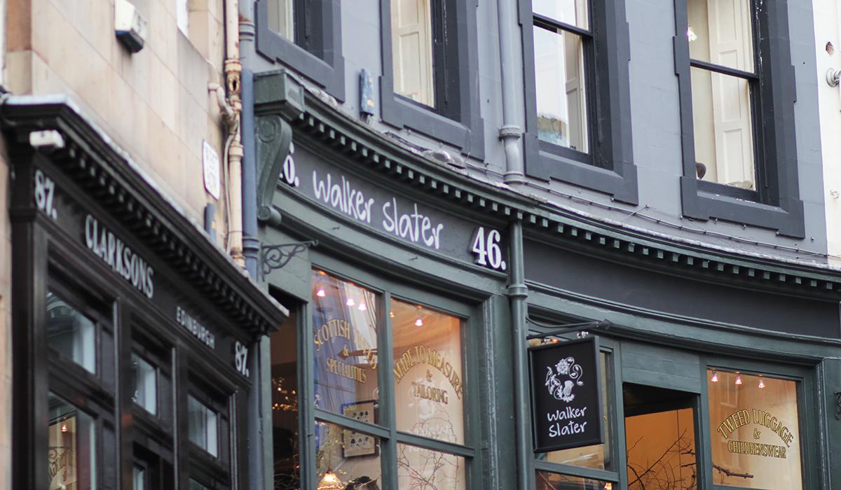 Lovely Places: Der Walker Slater in Edinburgh