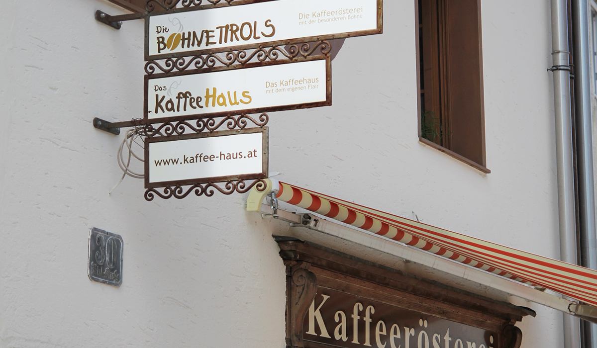 Lovely Places: Die Kaffeerösterei Bohne in Kufstein