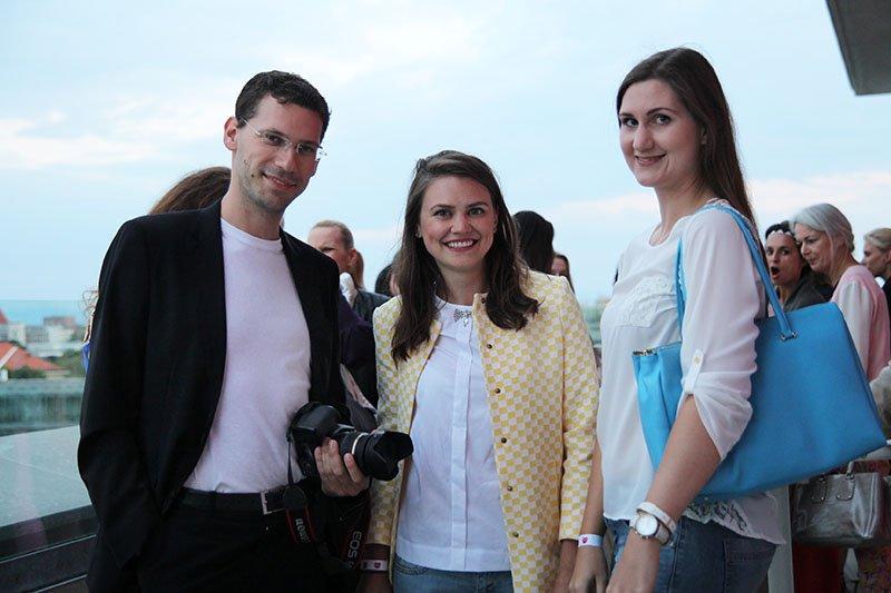 Bloggerkollegen Phil Klever, Olga Arnold und Conny Schuhbauer