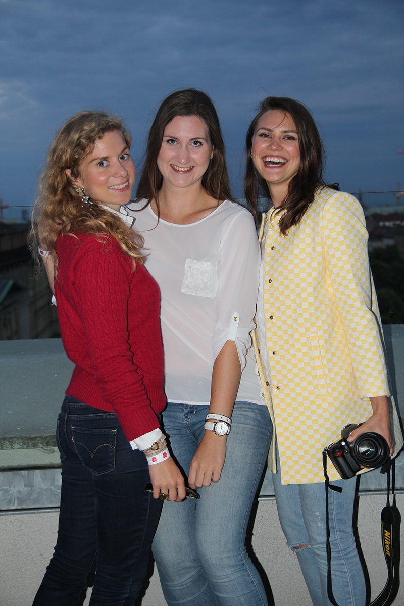 Modebloggerinnen Dani Uhrich, Conny Schuhbauer und Olga Arnold