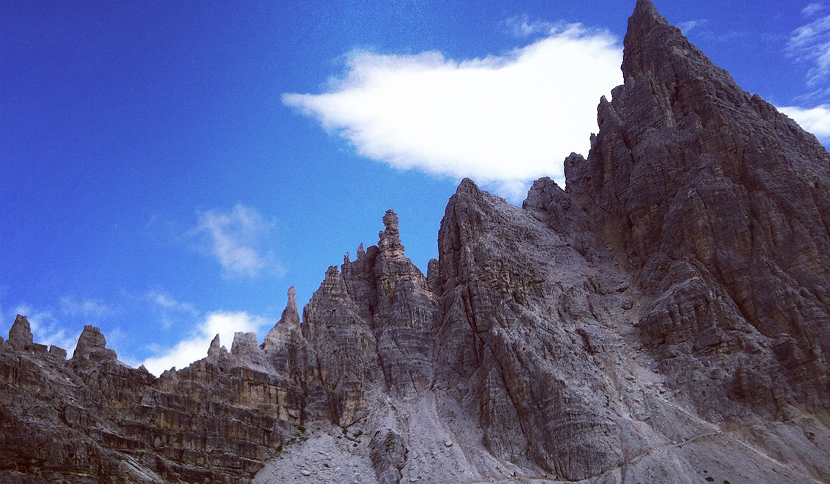 Auf Reisen: Unterwegs in den Dolomiten