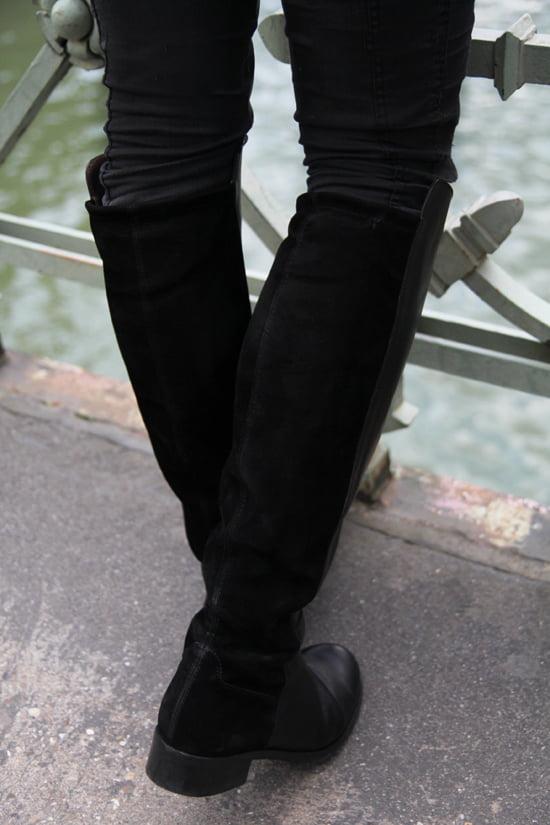 Flache Stiefel im Reiterlook von Peter Kaiser