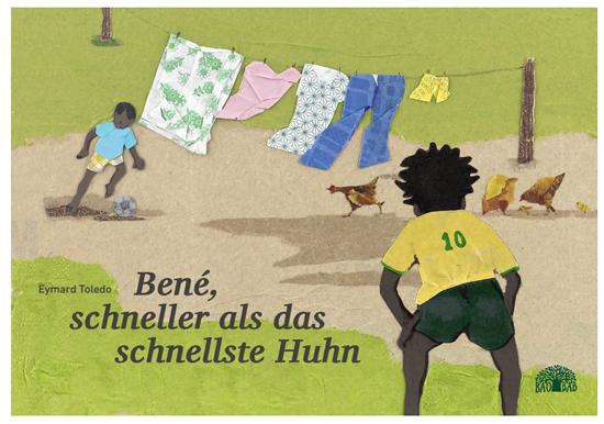 Stiftung Buchkunst: Bené, schneller als das schnellste Huhn