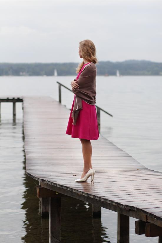 Daniela Uhrich vom Lady-Blog in einem Kleid von Classy Cuts
