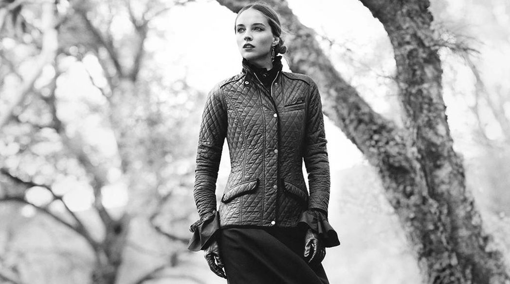 Reitsport-Kollektion von Barbour Gold