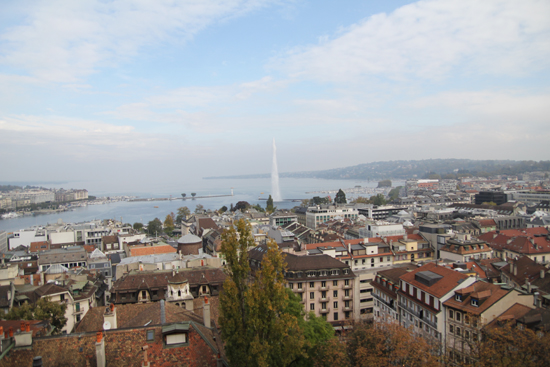 Genf-Tipps: Jet d'eau