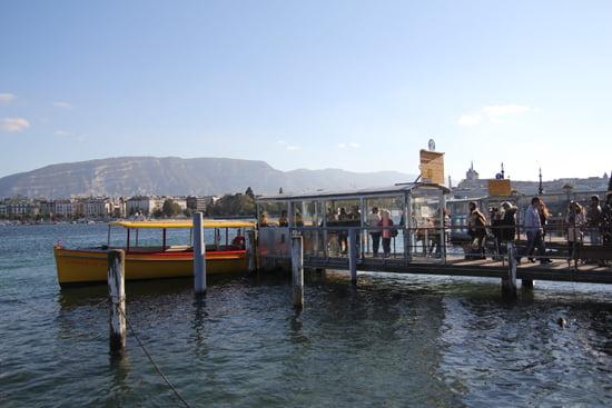 Genf-Tipps: Bootsfahrt
