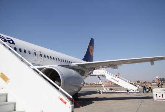 Flug nach Marrakesch mit Lufthansa