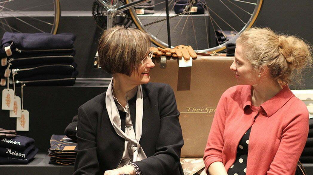 Mit Sybille beim Brooks-Jubiläum in Bielefeld