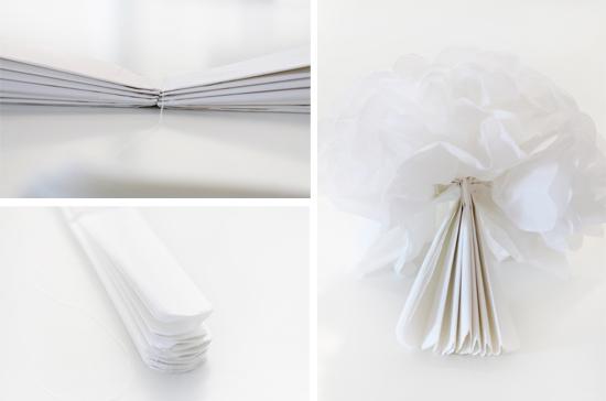 DIY: Pompoms aus Seidenpapier