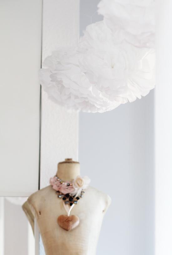 DIY: Pompoms-Kette