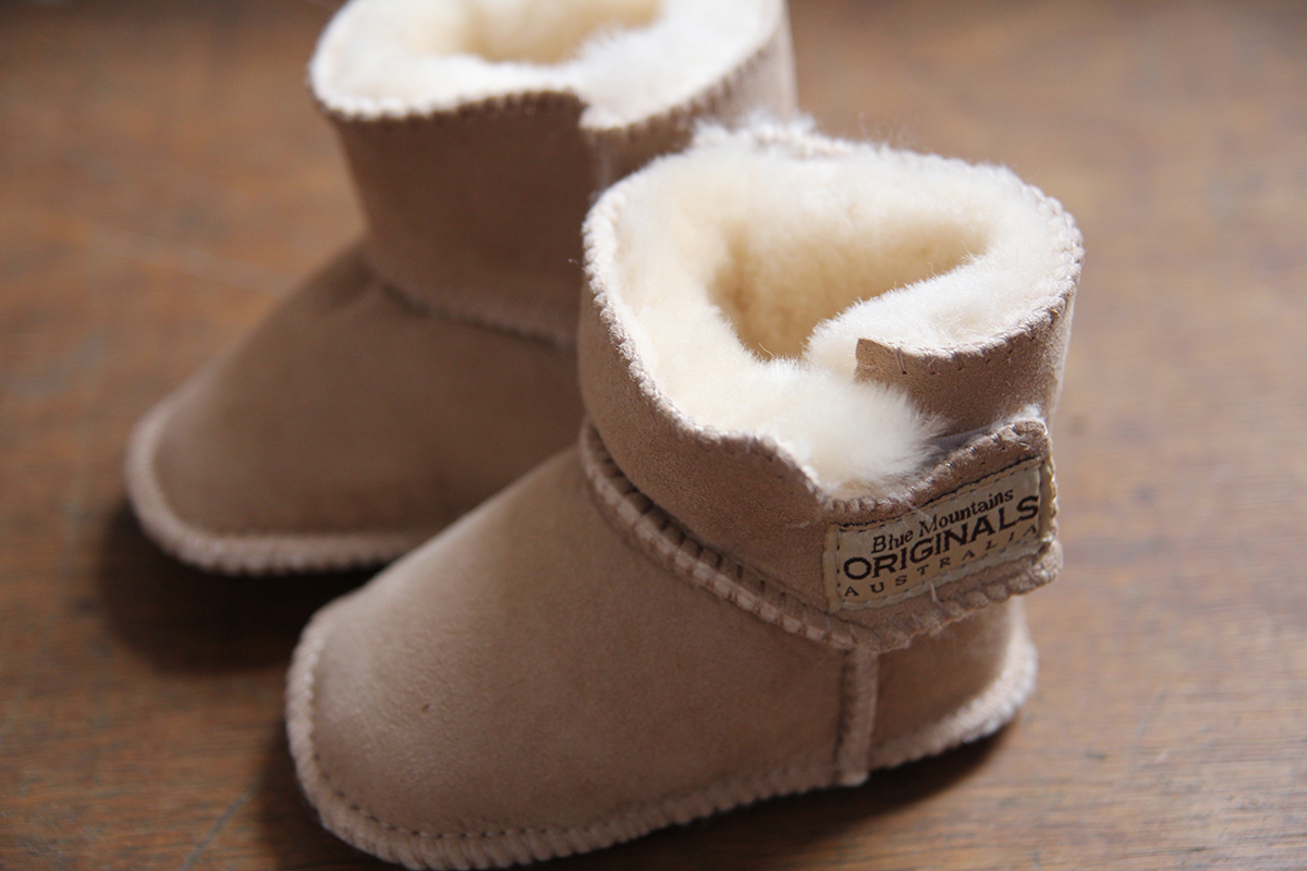 Baby-Uggs von Blue Mountains Originals Australia