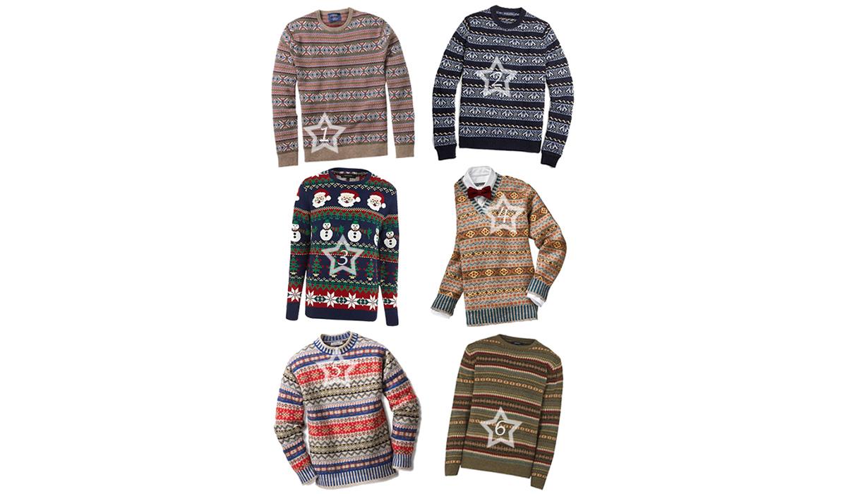 Fair-Isle- und Weihnachtspullover für Männer