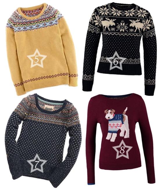 Die schönsten Weihnachtspullover