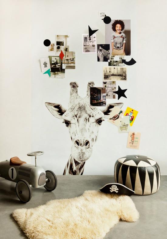 Groovy Magnets Magnettapete Giraffe