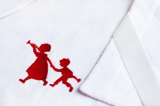"""Petit Filou: Wickelunterlage """"Geschwisterkinder"""""""