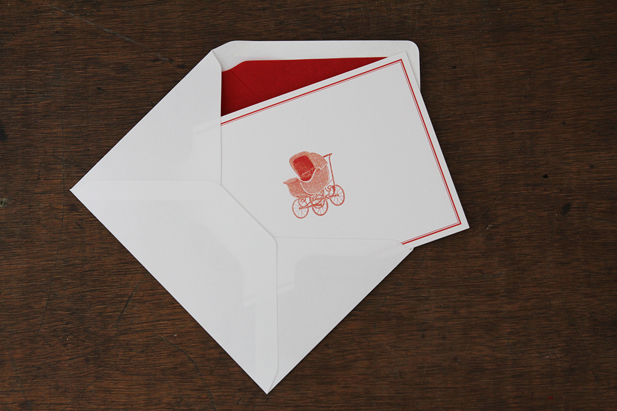 Druckateur: Stilvolle Einladungskarten zur Babyparty